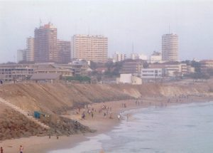 Coastal View of Downtown Dakar- Senegal
