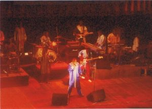 Concert downtown Dakar featuring local international superstar Youssou nDour