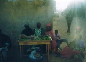 Mango stand in the neighborhood - Dakar, Senegal