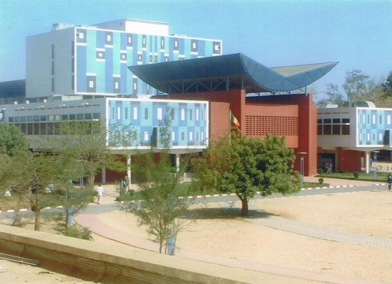 New Library on the Campus of University of Cheikh Anta Diop