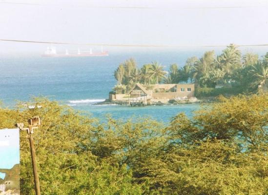 View from downtown Dakar - Senegal