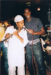 Musicians Nefer-Ra and Senegalese Icon Mame Goor