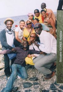 Recording Artist and Actor Ja Rule chillin with The Group at Goree Island (Senegal)