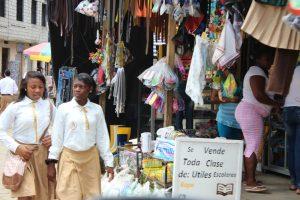 Afro-Ecuadorian girls of Esmeraldas Ecuador