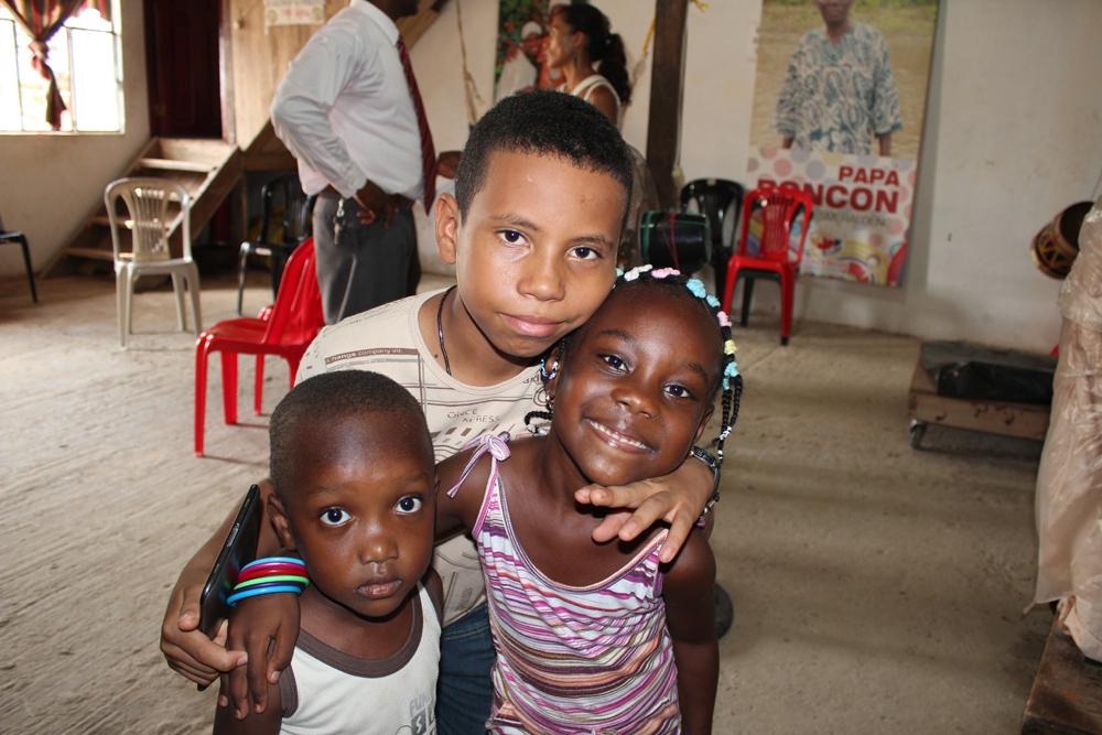 Afro-Ecuadorians - grandchildren of Papa Roncon