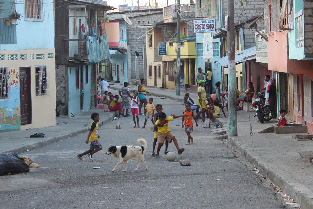 The Afro-Ecuadorian capital Esmeraldas