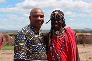 My Maasai brother  KENYA